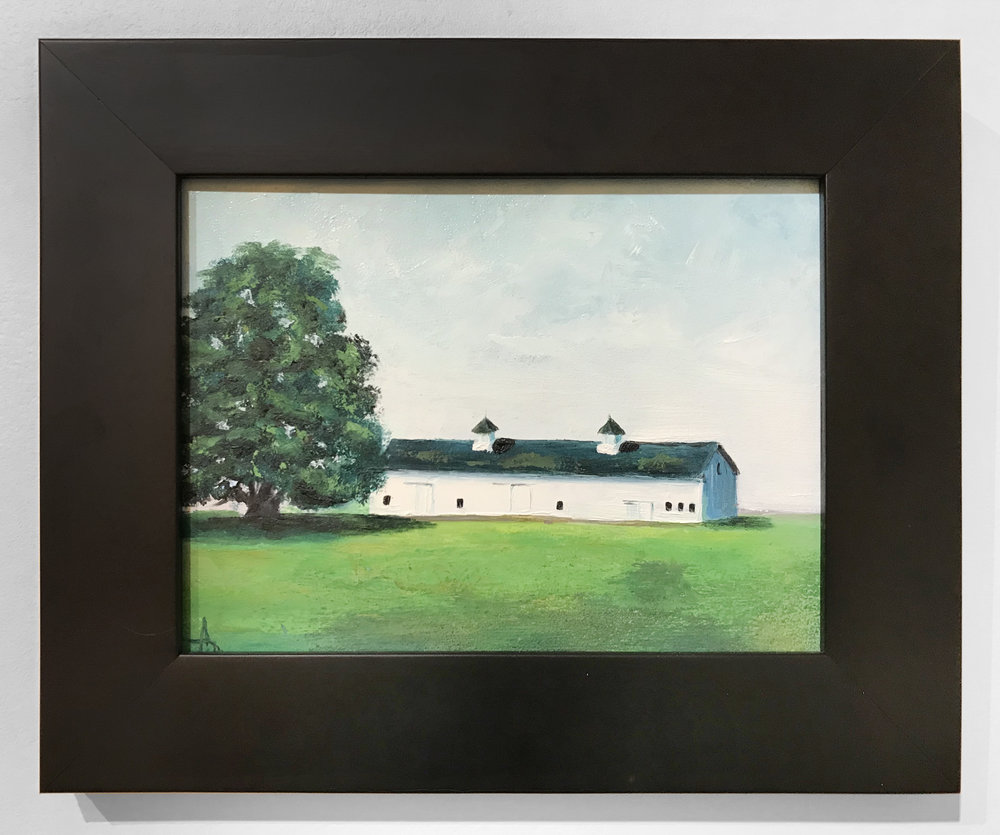 - Ann McCaugheyMattituck Barn2017Oil on board10 x 8 inches