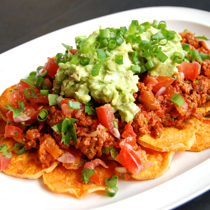 Addictive & Healthy Paleo Nachos