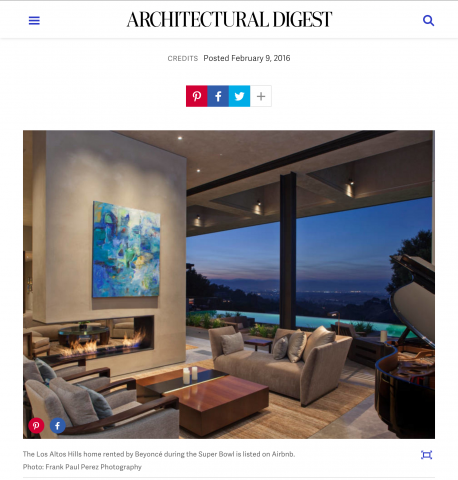 architectural digest | BUENA VISTA RESIDENCE