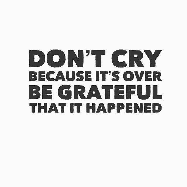 #Gratitude. Always the answer.