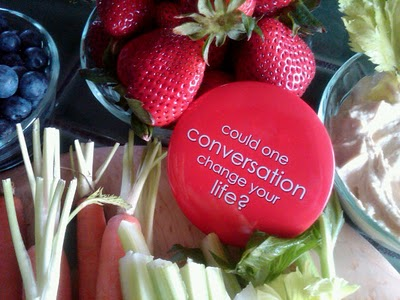 1 Conversation could change your lfie
