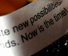 Possibilities now is the time