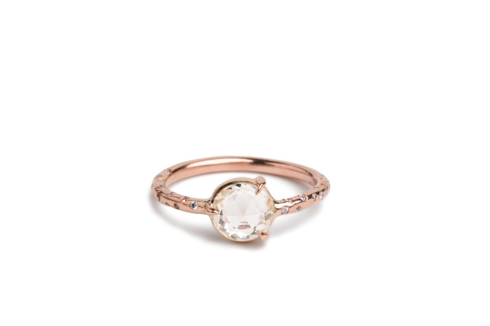 rose-gold-round-rose-cut-peach-sapphire-solitaire-custom-engagement-ring-rosey-west