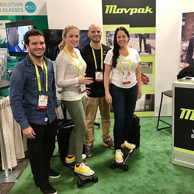 #CES2017 Day 4: @movpak! We are so glad we were neighbors this week! Wishing you all the best!