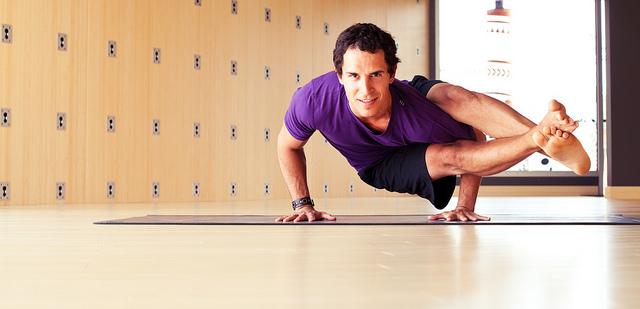 Do Manly Men Do Yoga?