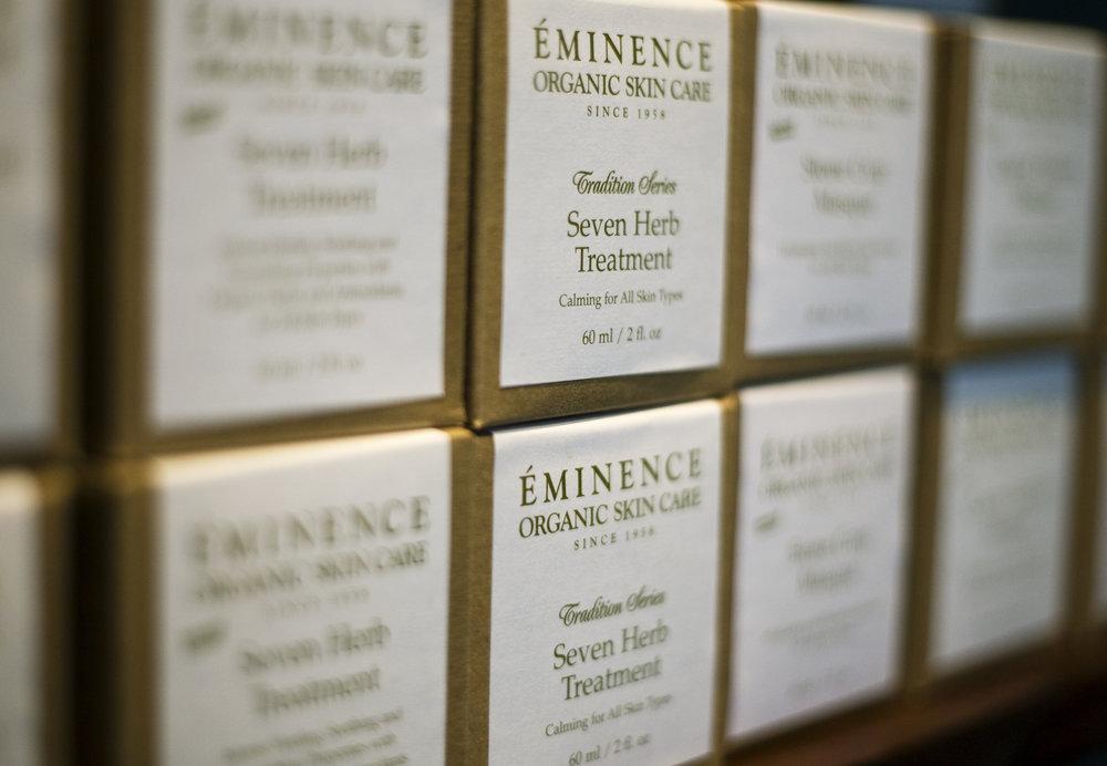 Eminence Organics skincare products