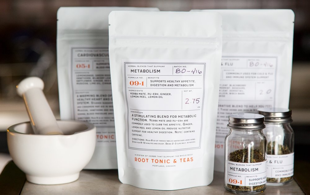 Introducing Root Tonic & Tea