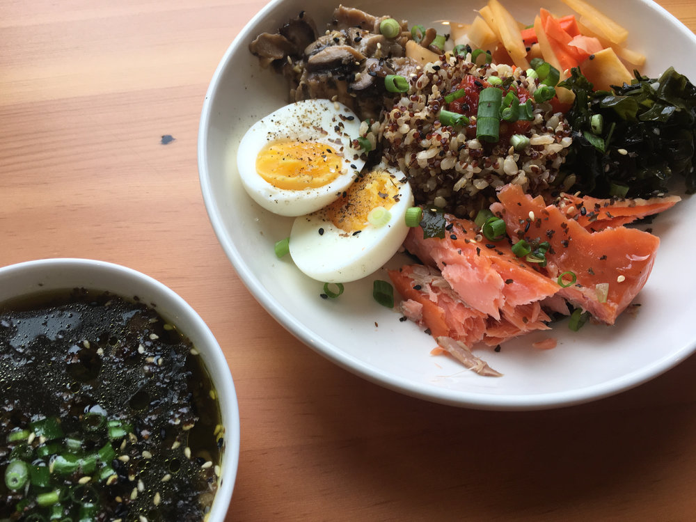 Japanese Breakfast Bowl at Root NW