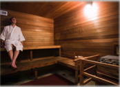 Two Saunas to choose from