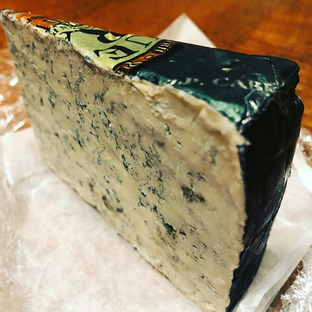 Queso Cabrales {Asturian blue cheese} .......... .......... .......... this is some intense stuff - just how we 😍 it @westsidemarket