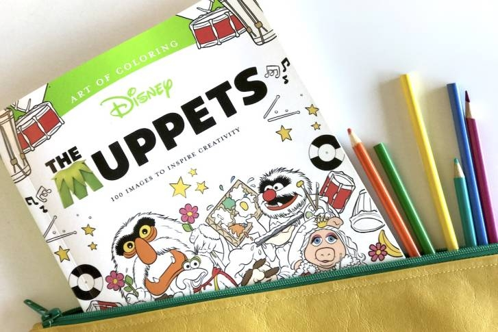 A Muppets Coloring Book For Adults & Kids  - DISNEY FAMILY