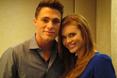 Colton Haynes and Holland Roden Talk MTV's Teen Wolf - entertainment