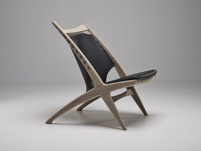 Krysset lounge armchair