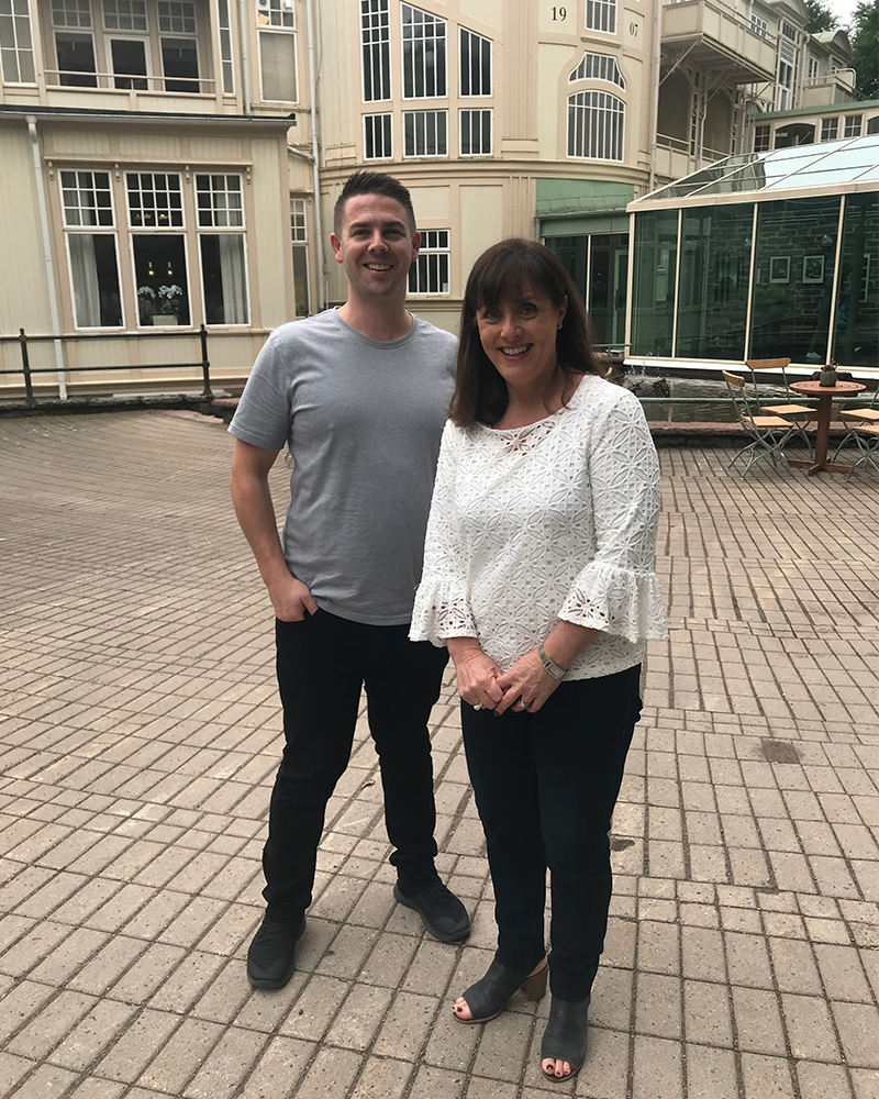 Meet the team: Joel Whiticker our amazing VIC Project Manager, and Lisa Cunningham our brilliant VIC Sales Executive