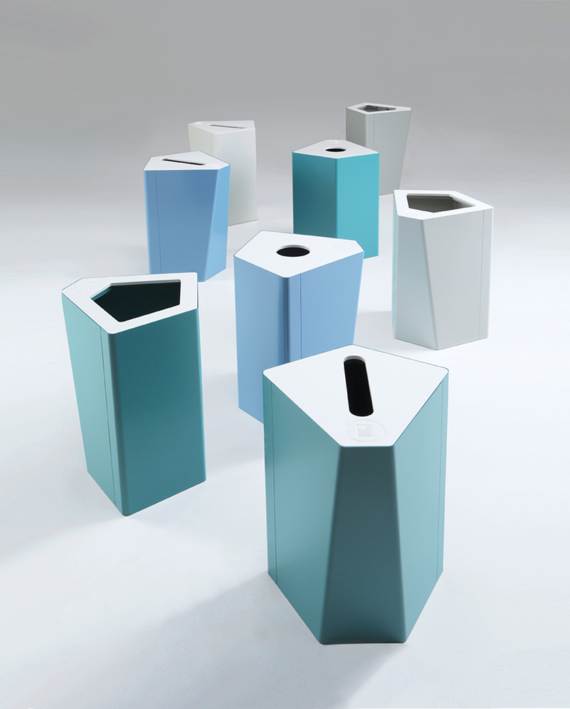 August Litterbins   Store away, but don't hide away! Our collection of litter bins are designed by some of Europe's leading creative minds. Each serves its practical purpose, while also adding to the character of the space; a piece of furniture designed to be practical and look smart.