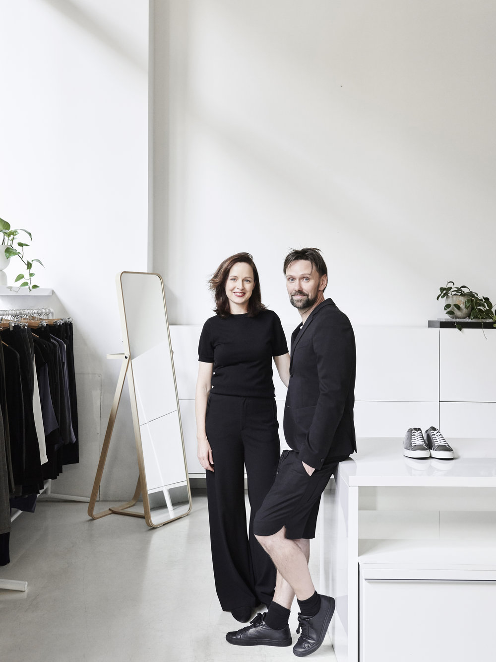 Jane Matthews owns and manages  Swensk  - a Swedish multi-brand fashion store with her husband Mats. Photo by  Eve Wilson