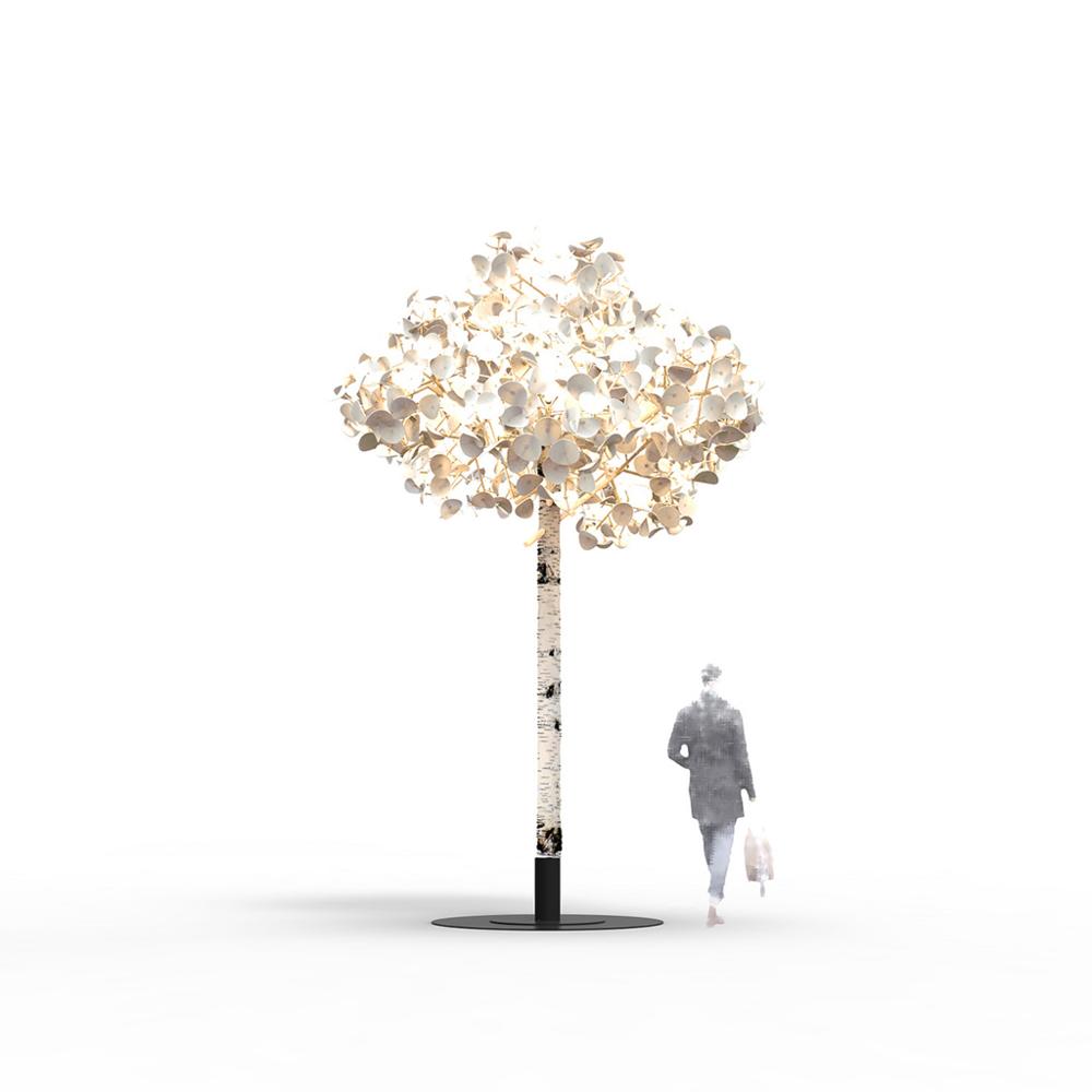 Leaf Lamp Standing