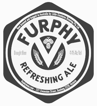 $5 Furphy's @5pm. Wednesday's 5-6pm.