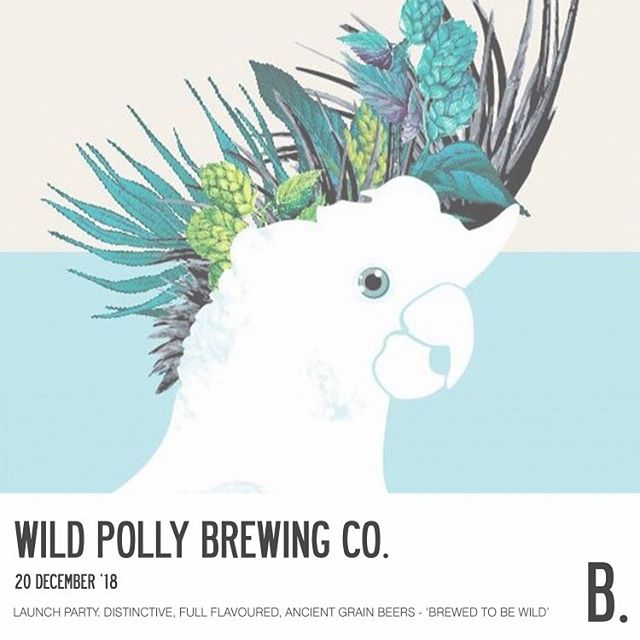 @wild_polly_brews take flight this thursday! sample some ancient grain goodness before they fly out the door 🦅