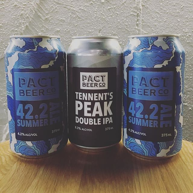 Bookend your week with @pactbeer #drinklocal