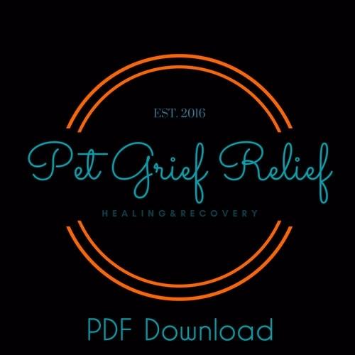 Pet Grief Relief PDF Download Program