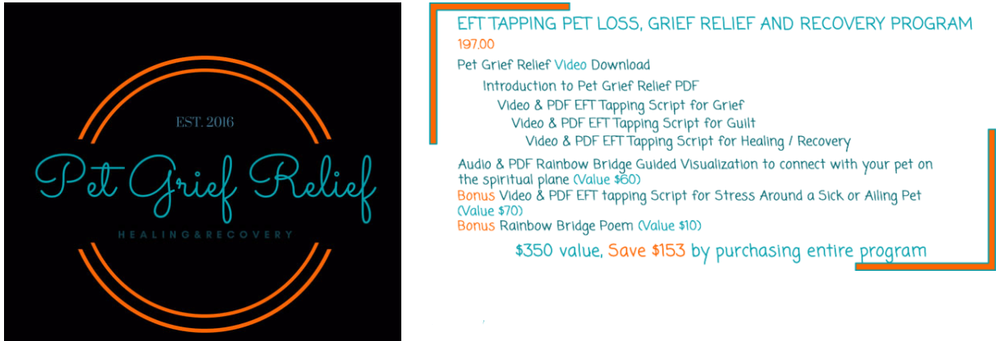 Pet Grief Relief EFT Tapping Video Program
