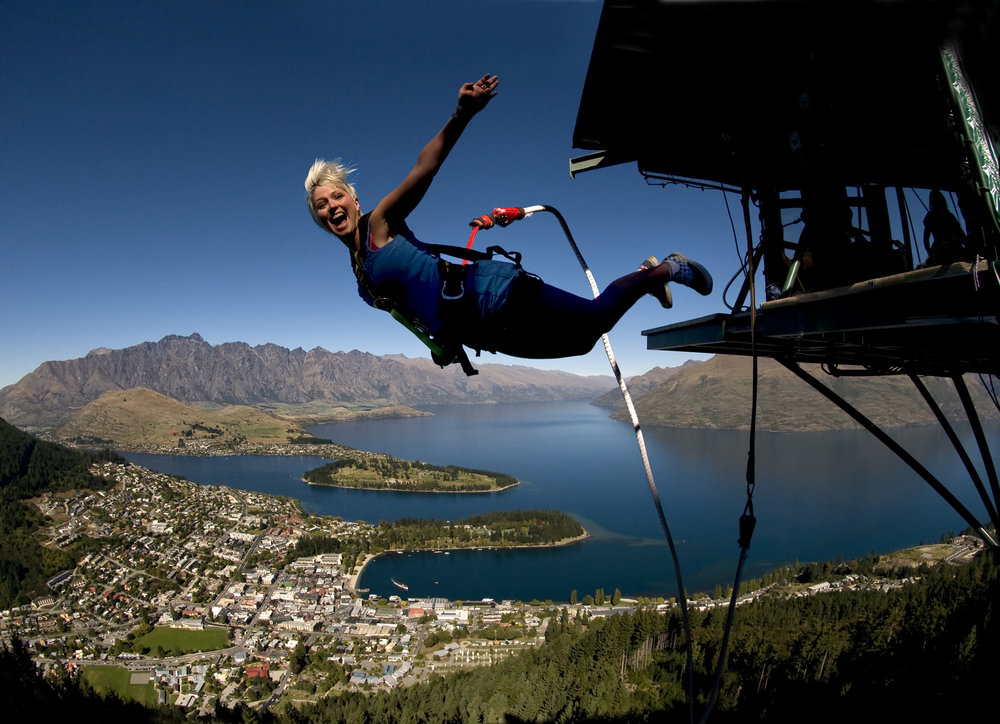 New Zealand - the home of bungy!