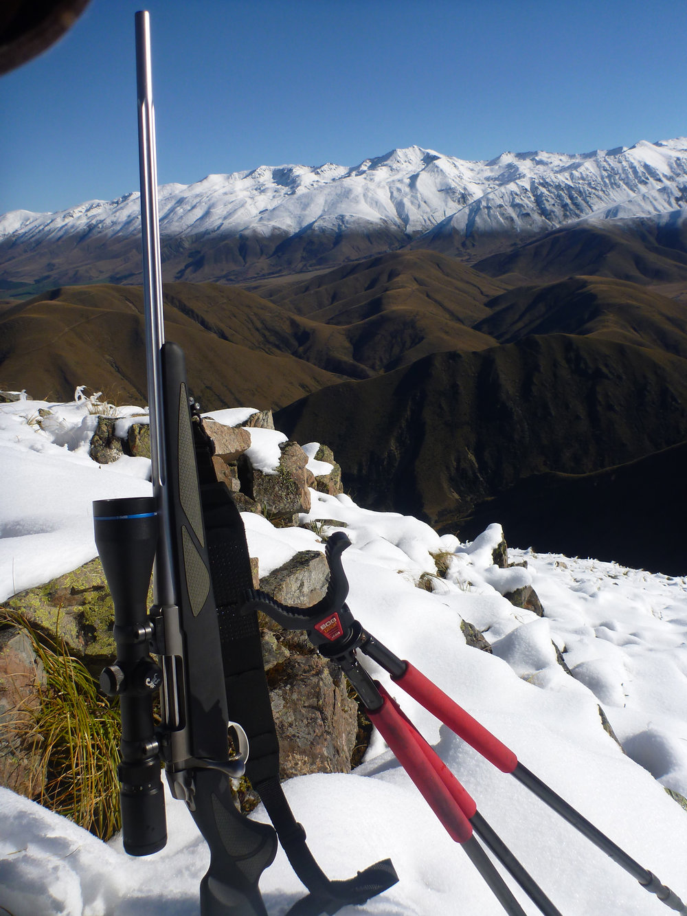 Great Tahr hunting rifle - Sako 7mm mag