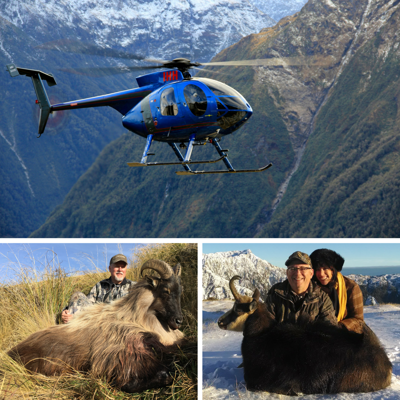 2018 TAHR & CHAMOIS - $10950*7 days | 6 nightsHunt Tahr on foot - Chamois Helicopter assist*Includes 1 hour of helicopter timeCONTACT US