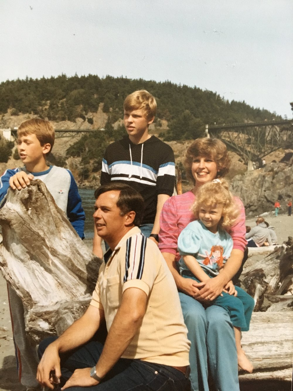 circa 1985 - Deception Pass, Whidbey Island, WA