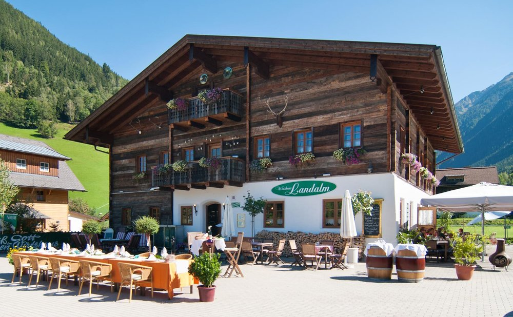 Landalm  - traditional 300 year old farmhouse that has been restored into a restaurant with traditional peasant origin