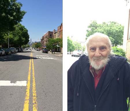 """Sunnyside is an island. It's surrounded by commercial, railroad, graveyard, highway."" -Joe Cavallo, Sunnyside resident since 1960"