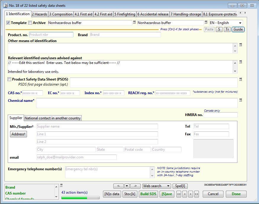 Sdscribe For Formulators In The Biotechnology Sector Sdscribe