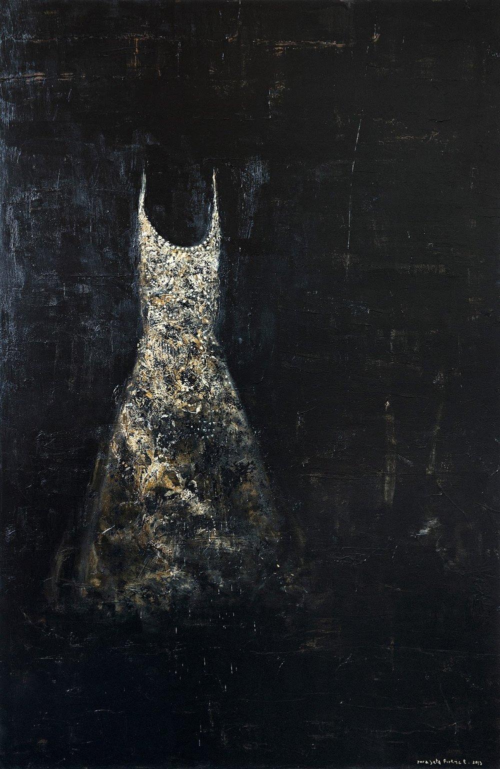 Pizzi Canella, Dresses in his studio