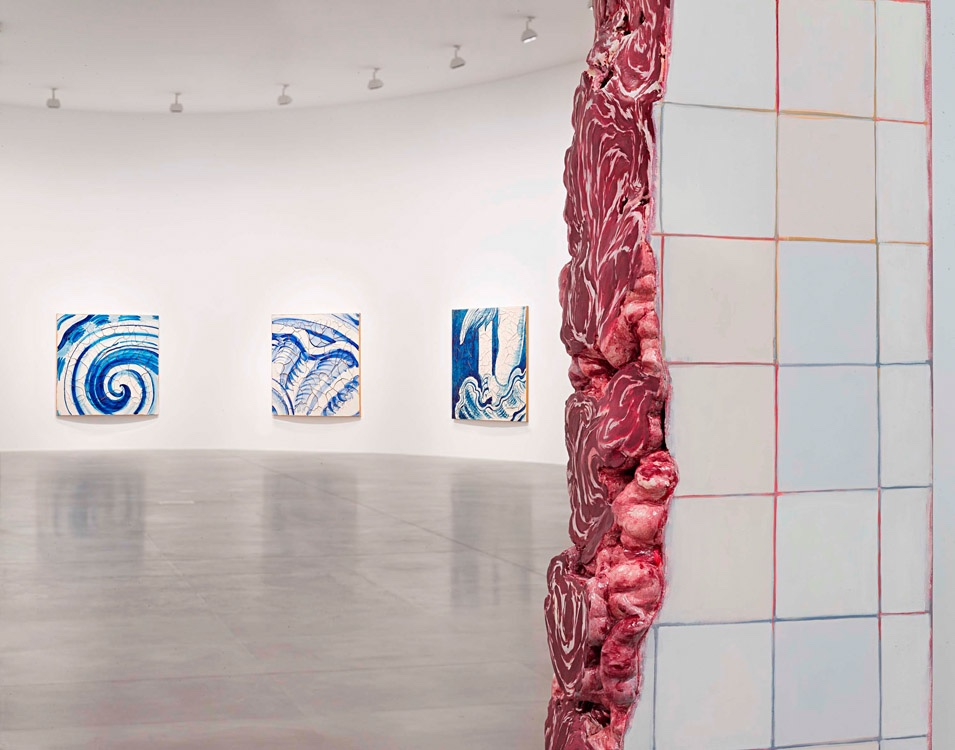 Adriana Varejao at Gagosian Gallery Rome
