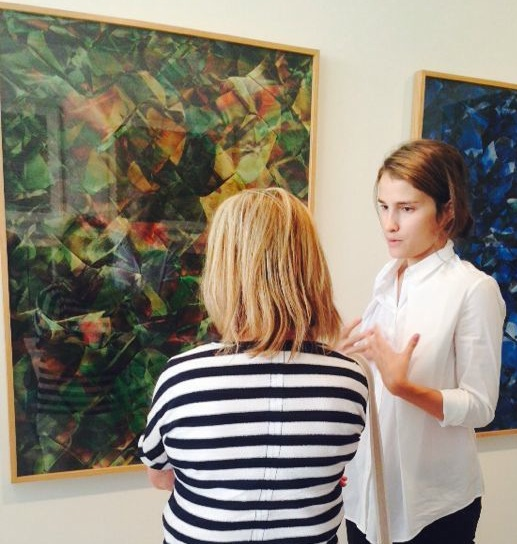 GALLERY TOUR     - with Sarah Peguine