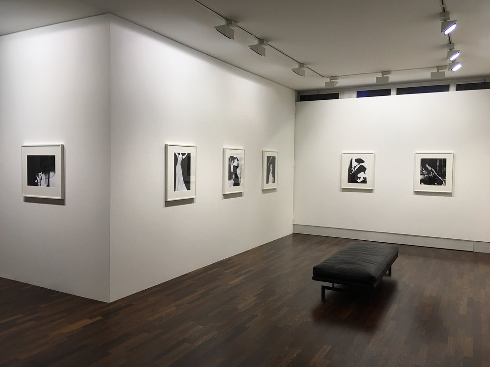 Lillian Bassman exhibition installation view © Lillian Bassman Estate / Courtesy of Edwynn Houk Gallery