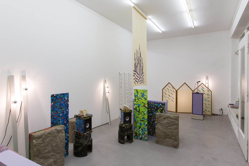 Anyway Part Of It exhibition installation view Courtesy of BolteLang, © Kueng Caputo & Clémence Seilles