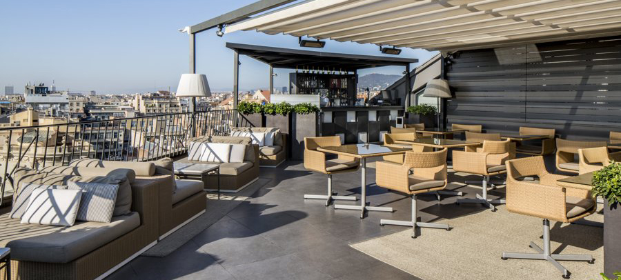 Urban Oasis | Majestic hotel roof top Terrace