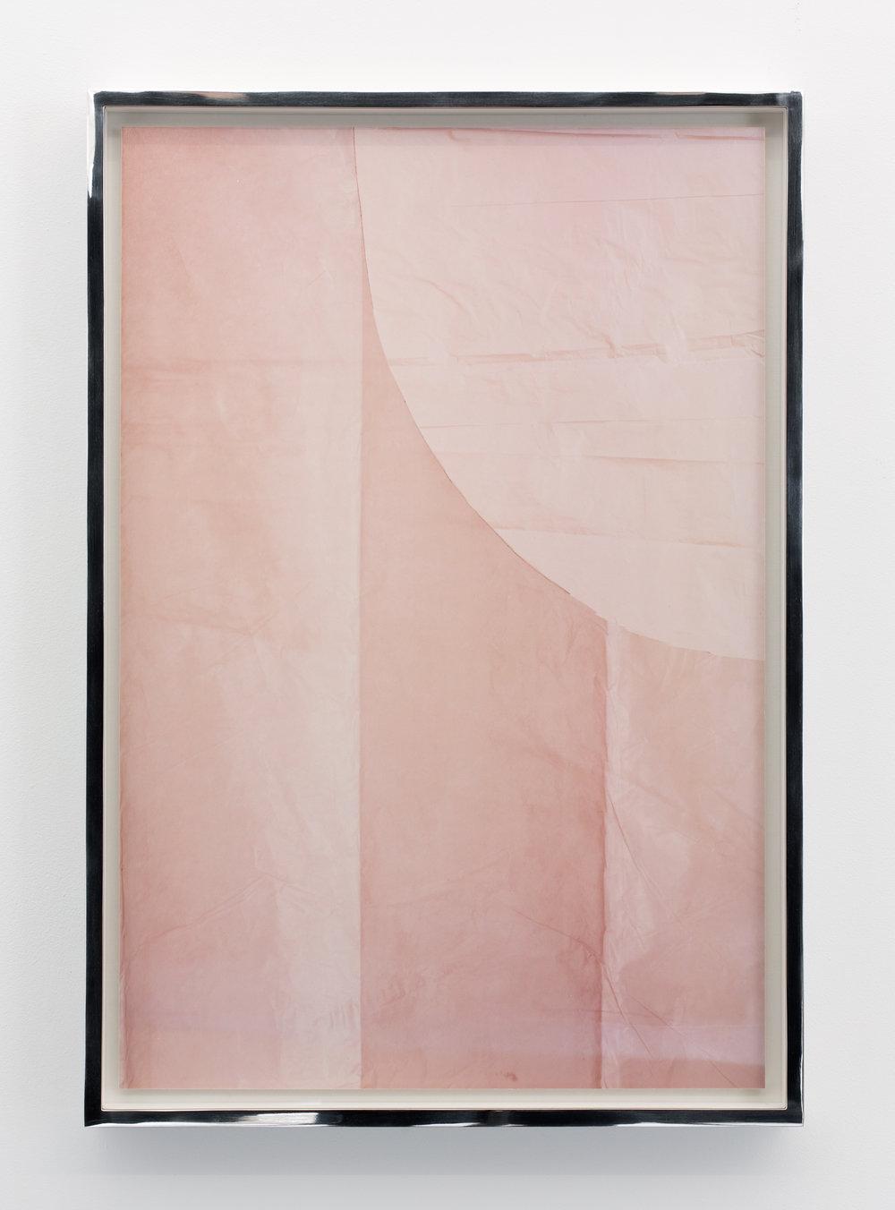 Bianca Brunner, Veil (pink), 2017 © Bianca Brunner, Courtesy of Galerie BolteLang