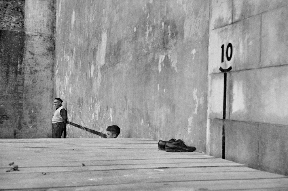 René Burri, Bilbao, Spain, 1957 ©René Burri/Magnum Photos