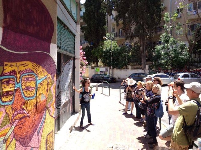 FLORENTIN GRAFFITI TOUR - with Yael Shapira