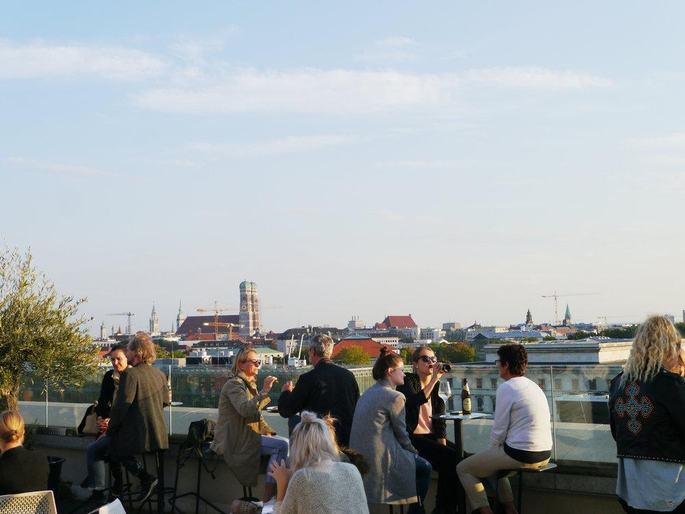 Rooftop Bar TU München