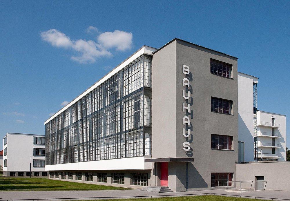 The Bauhaus School today. Image:  Bauhaus Dessau