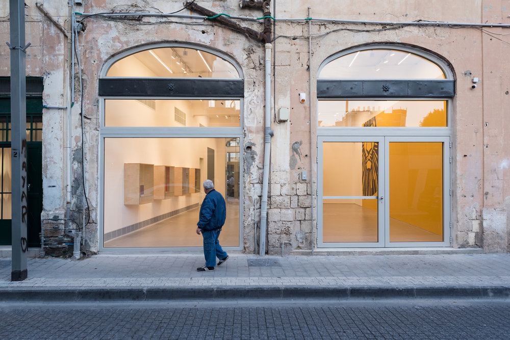 Street view of Magasin III Jaffa. Image by Youval Hai