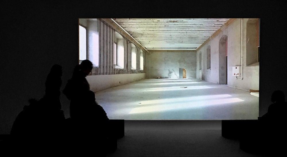 Video installation at Itziar Barrio exhibition