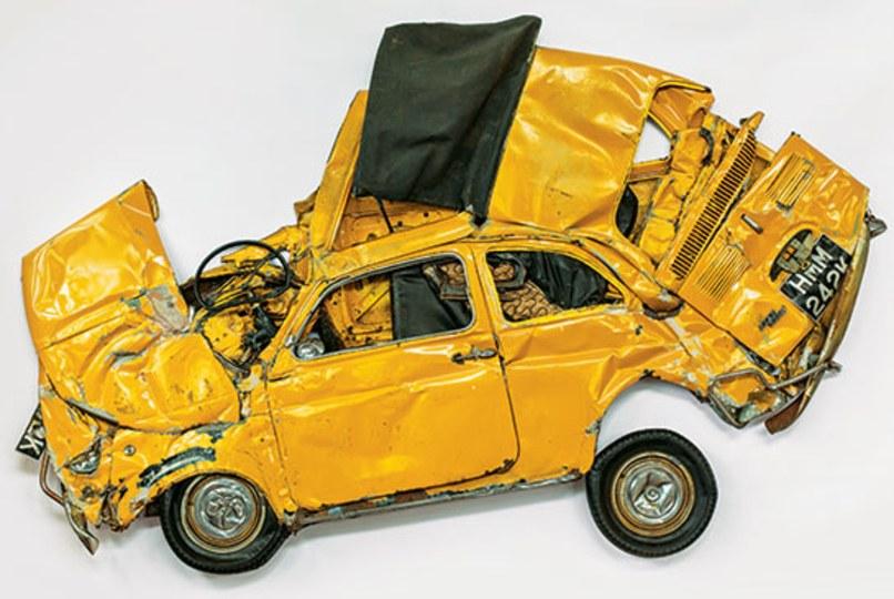Pressed Flower Yellow, 2013.Paul Kasmin Gallery, New York.