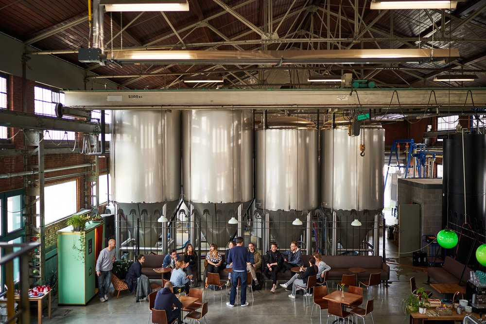 The Antwerp Brew Company at Seef Brewery .  Photo by Niko Caignie.