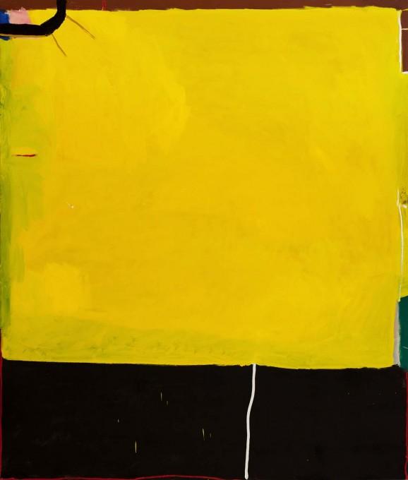 Yaara Oren, Shutter, 2017, oil on canvas