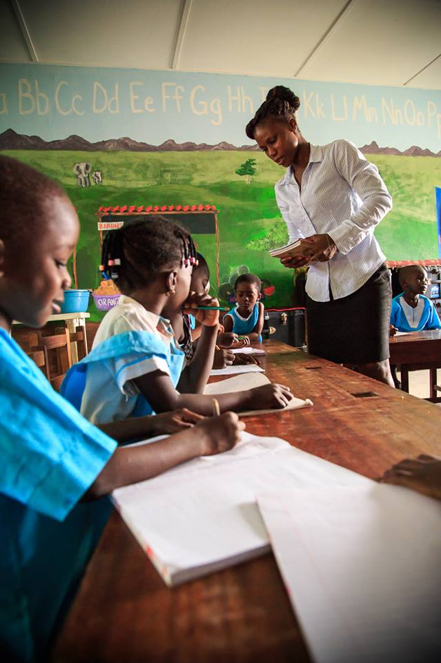 Elementary at the Village of Hope in Fetteh, Ghana.